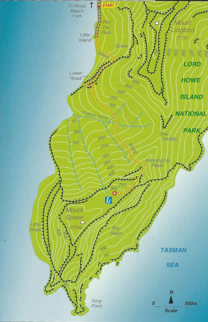 Map-MtGower
