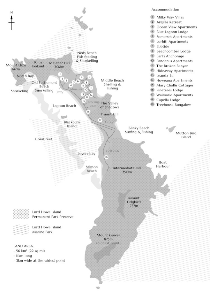 Map-Lord-Howe-Island-Map