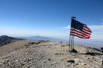 Mt Charleston summit (11,959ft / 3,645m) - highest peak in Nevada)