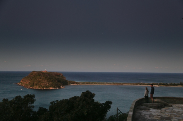 Looking directly across to Barrenjoey Peninsula and Lighthouse