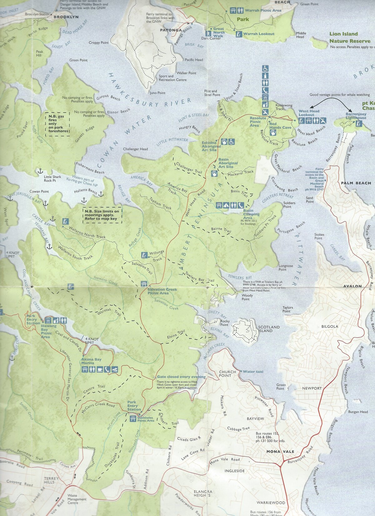 map-ku-ring-gai-np