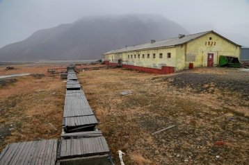 Barn (Animal Farm) at Pyramiden