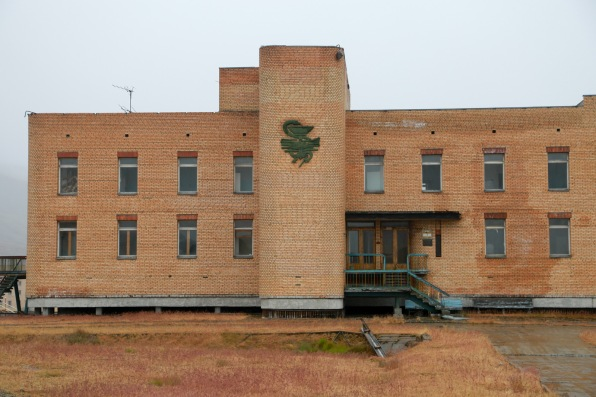 The hospital in Pyramiden
