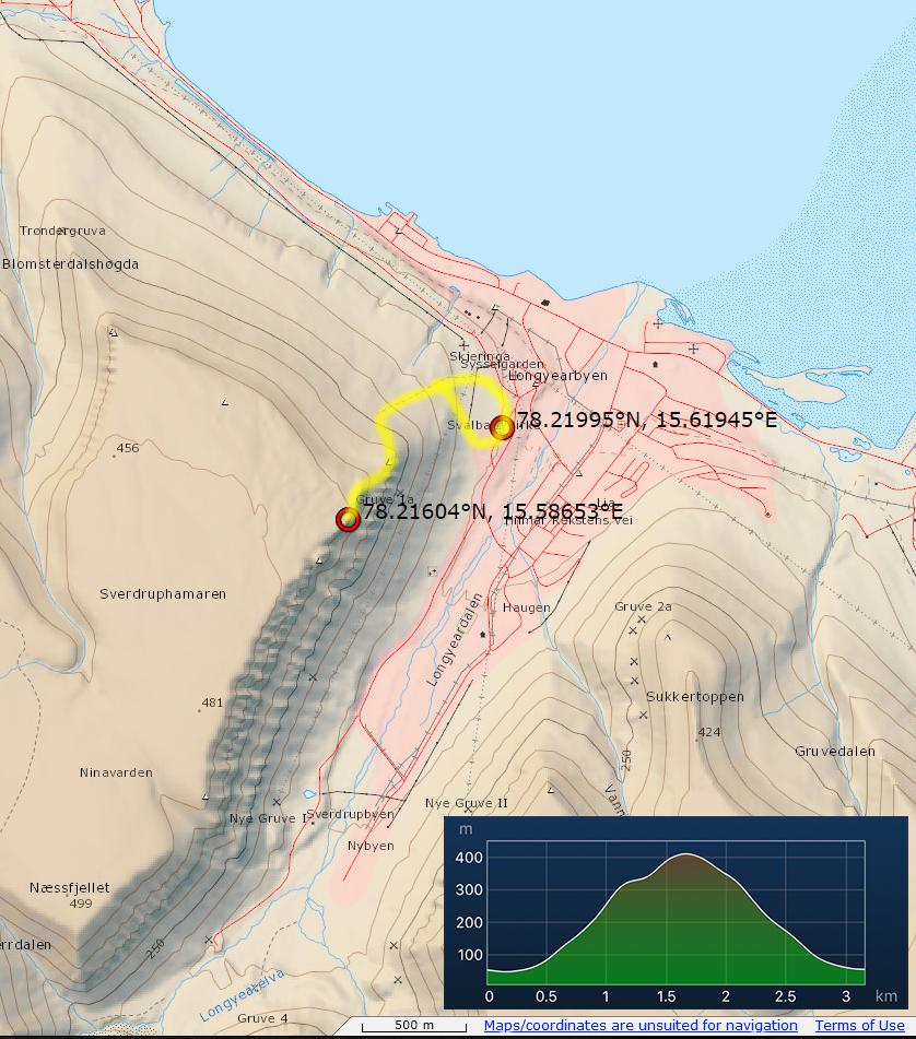Svalbard Hiking the world
