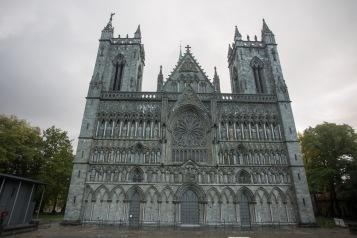 Nidaros Cathedral (Nidarosdomen or Nidaros Domkirke) - west front