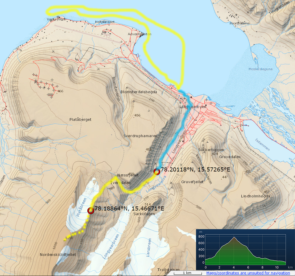 Svalbard Hiking the world