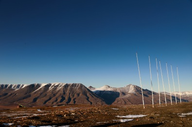 View from the EISCAT Svalbard Radar station