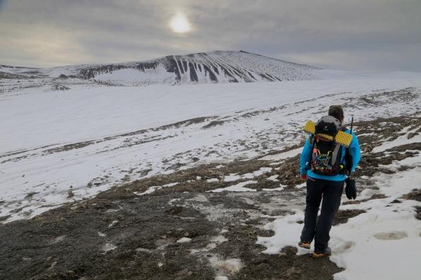 Looking over Lars glacier to Trollsteinen