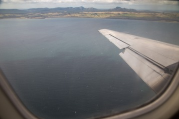 Flinders Island coming into view