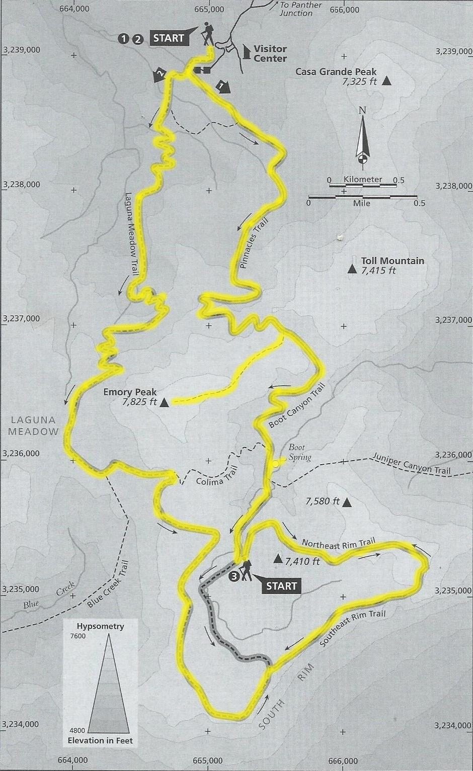 Emory Peak Big Bend Hiking the world