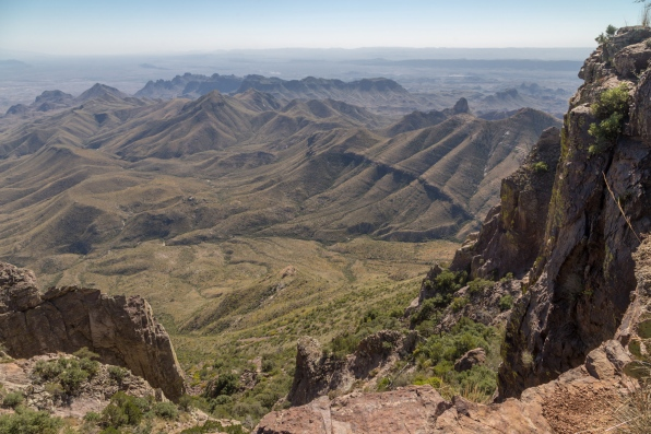 Punta de la Sierra from South Rim Trail
