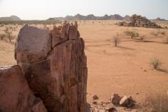 Damaraland plains around Camp Kipwe