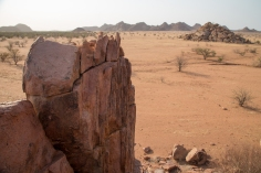 Damaraland plains around Camp Kipwe