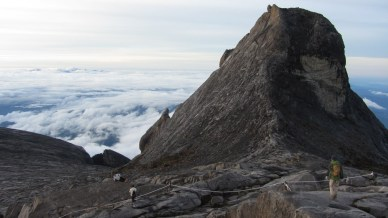 View from just below Lows Peak, Mt Kinabalu