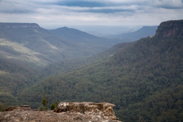 Looking south-west over Morton National Park from Yarrunga Lookout