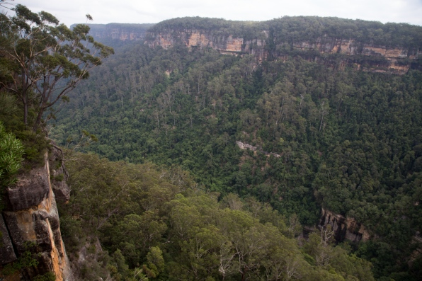 View from Warrawong Lookout,