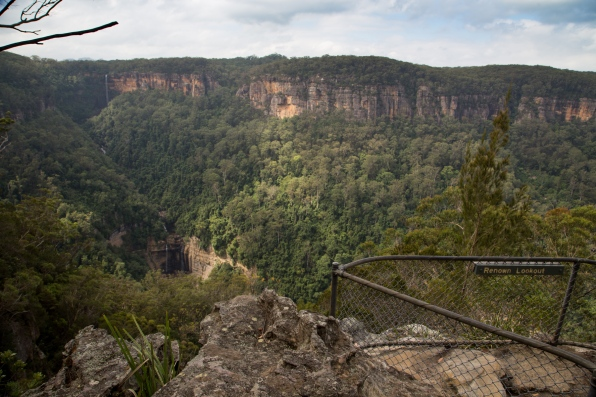 Renown Lookout, the final viewpoint on the West Rim track