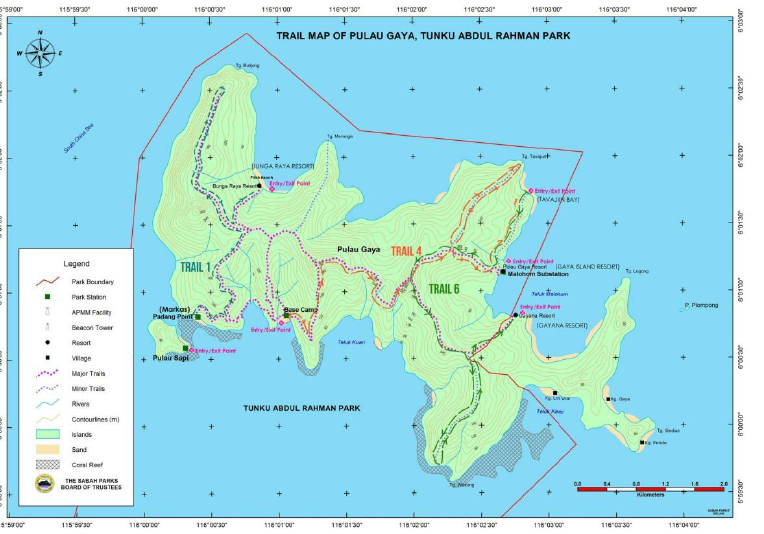 Topographic-Map-of-Gaya-Island