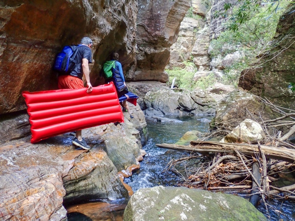 Wollangambe Canyon Lower Section Hiking The World