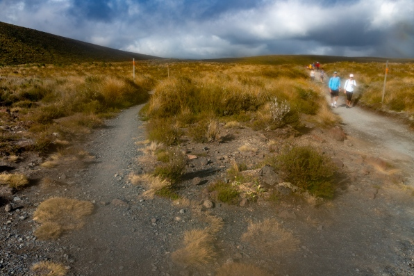 Tongariro Crossing track