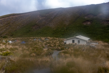 Mangatepopo Hut, Tongariro Crossing