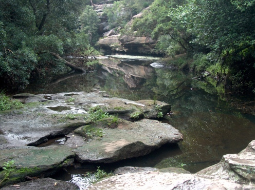 Berowra Creek between Hornsby and Mt Ku-ring-gai