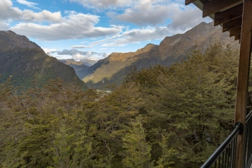 View from Routeburn Falls Hut