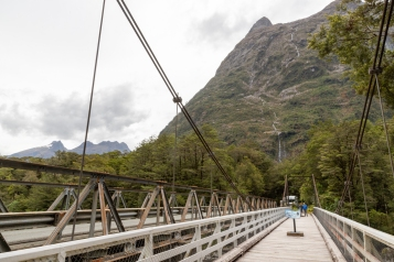 Tutoko Suspension Bridge