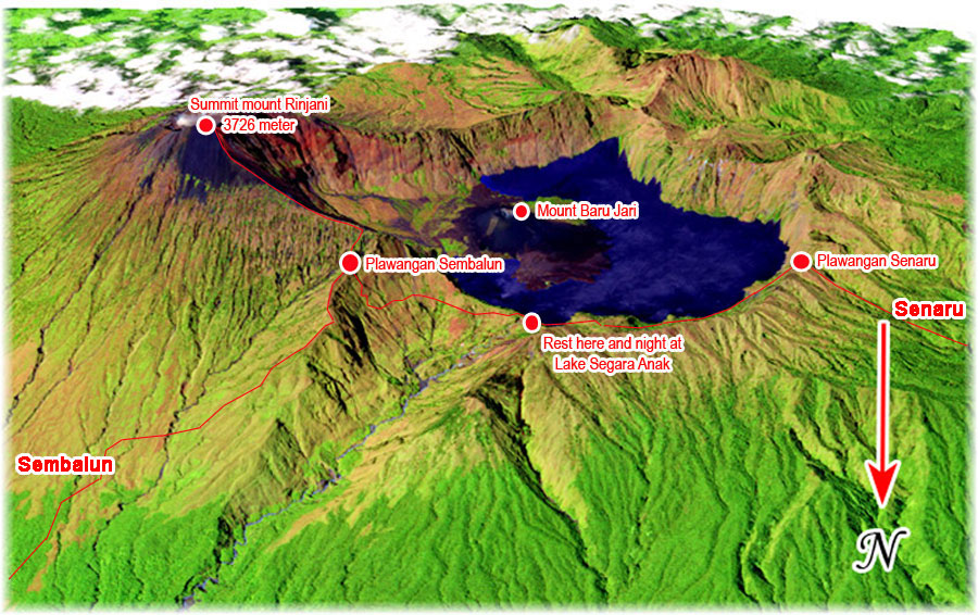 map-mount-rinjani